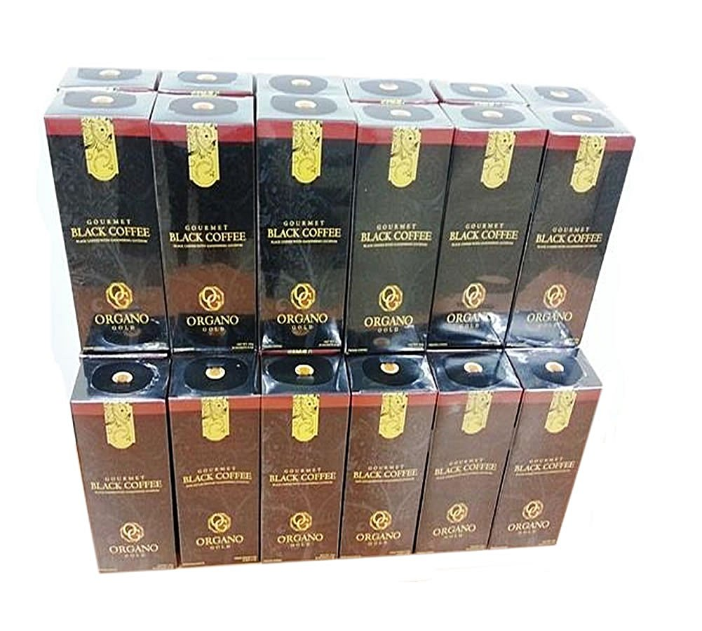 Organo Gold Coffee Case (Gourmet Black 30 Boxes)