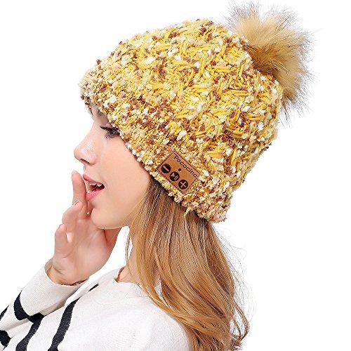 Pom Knit Hat - 4