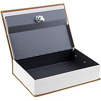 Baoblaze Money Box W/ Keys Jewelry Storage Case Piggy Bank Hidden Safe Box Yellow