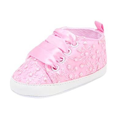Baby Shoes Mother & Kids Kids Infant Baby Boys Girls Soft Soled Cotton Crib Shoes Laces Prewalkers New Arrival