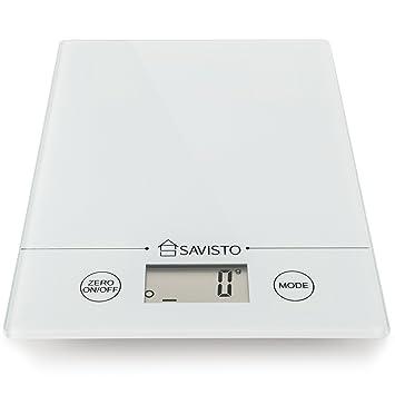Savisto 5kg Elektronische Hoch Akurate Digitale Kuchenwaage Mit