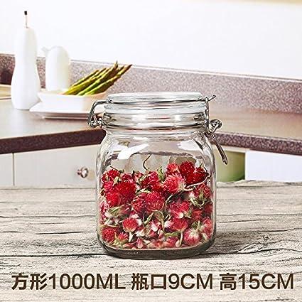 xingmei tarro de/botella de cristal/alimento/Junta/cristal ...