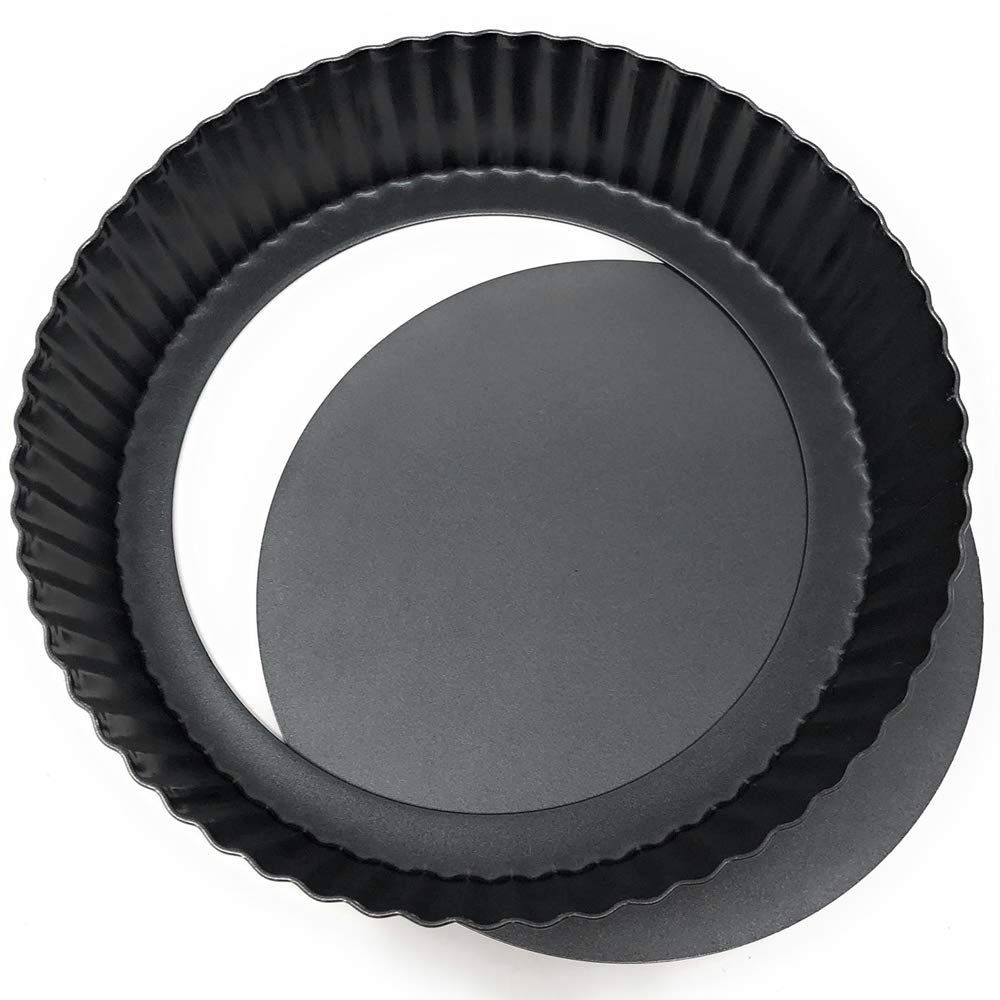 Molde de Horno Rizado Recubrimiento Antiadherente Base Desmontable MGE Di/ámetro 24 cm