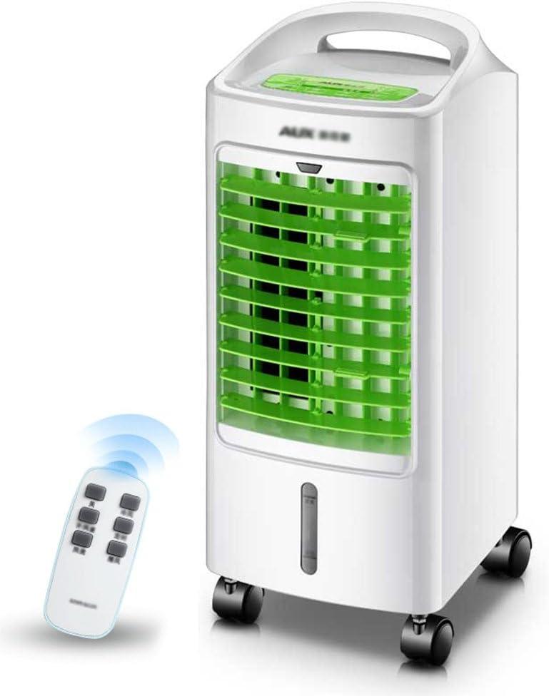 ChenCheng 青/緑、3つのブロックの風速、浄化と加湿、ビジュアルドロワータイプ水タンク、ホーム冷凍機、小型空調、水冷却ファンリモートコントロール。 日用品 (Color : Green)