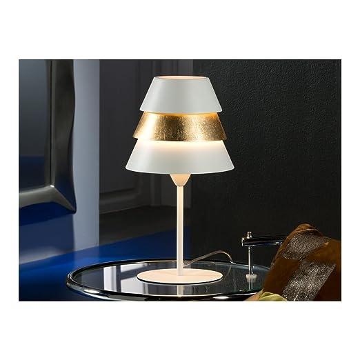 Schuller Spain 648436i4l Modern Art Deco White Table Lamp