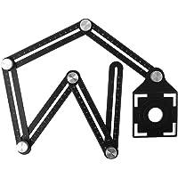 JENOR - Regla de carpintería con 6 reglas
