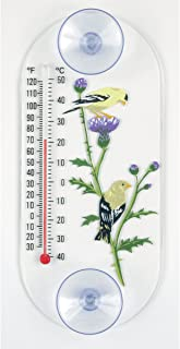 product image for Aspects 064 Goldfinch Pair Window Thermometer