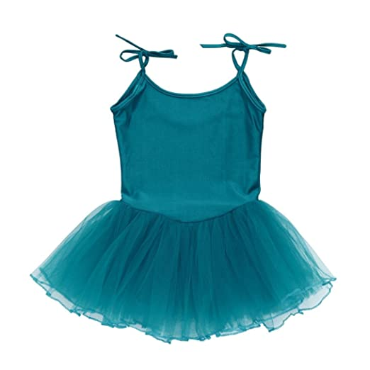 e4cb5c35c263 Amazon.com  Goodlock Toddler Kids Fashion Dress Girl Strap Gauze Leotard  Ballet Bodysuit Dancewear Dress Clothes Outfits  Clothing