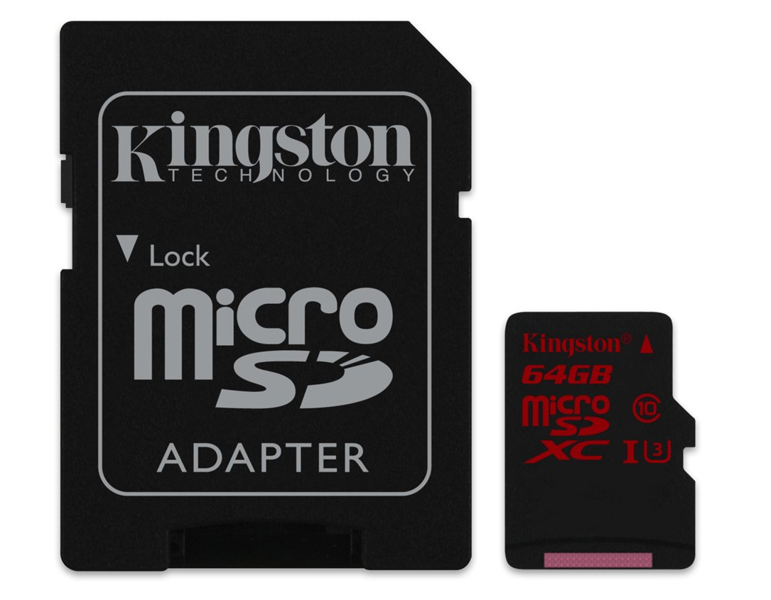 Kingston Carte mé moire Micro SDXC pour Smartphone HTC One M9 64  Go