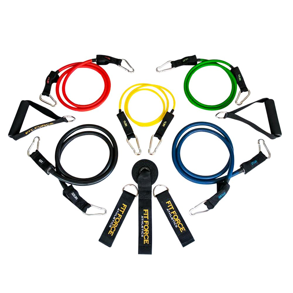 Exercise Equipment Workout Resistance Bands Set