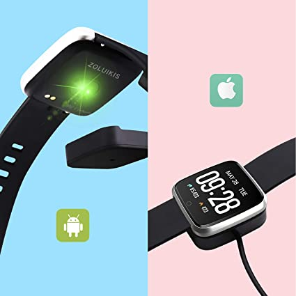 ZOLUIKIS Smart Watch Charger for Y7, Original Magnetic Charger Base.