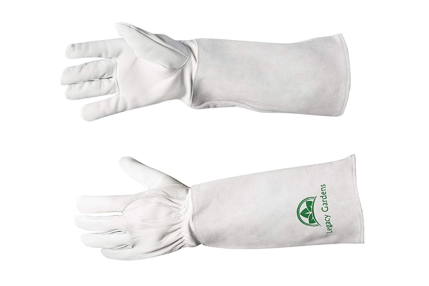 Legacy Gardens Protective Gloves for Women and Men Work Gloves Also Suitable For Thorny Bushes Cacti Rose Pruning Landscaping Work (Extra Large)