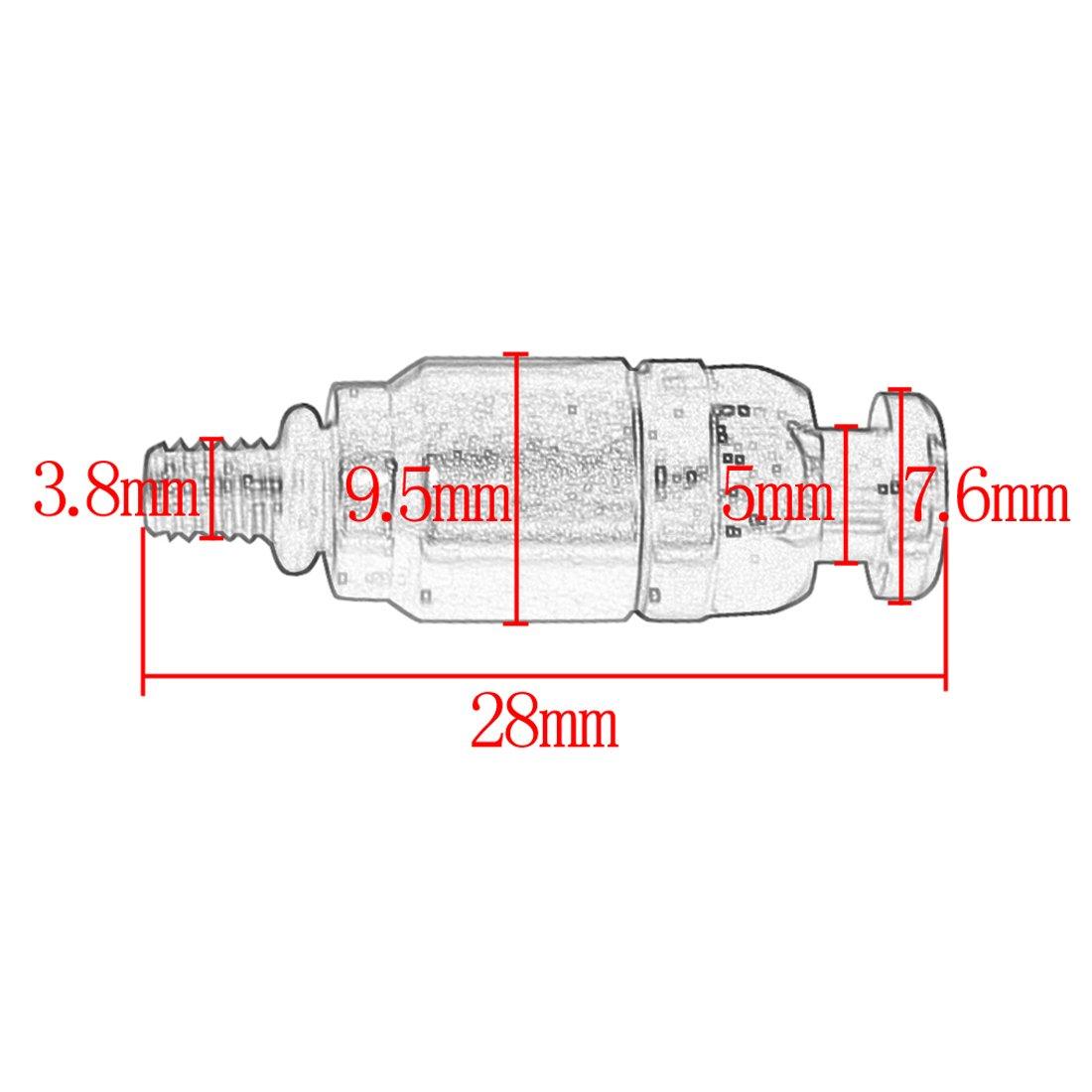 Amazon.com: New Stainless Steel Fork Bleeder Pressure Relief Valve M4 x 0.7  Orange For KTM EXC: Automotive