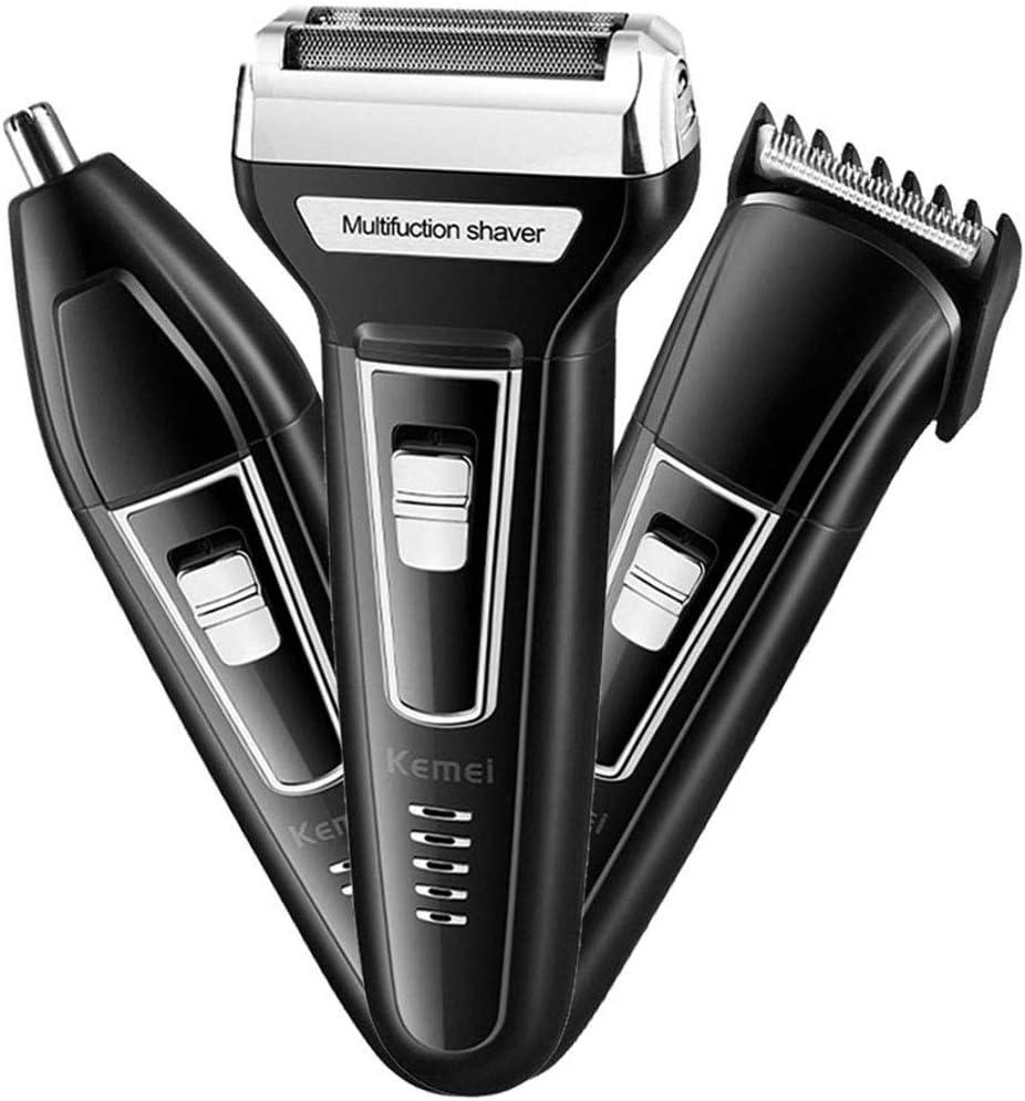 Regalos Kit Multifuncional máquina de Afeitar eléctrica Recargable ...