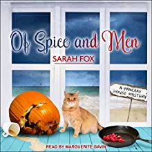Of Spice and Men: Pancake House Mystery Series, Book 3 Audiobook by Sarah Fox Narrated by Marguerite Gavin