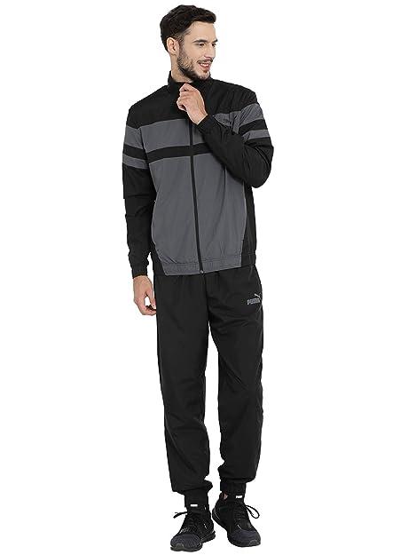 76a6697c7b6d Puma CB Woven Suit Cl Black-Iron Gate  Amazon.in  Shoes   Handbags