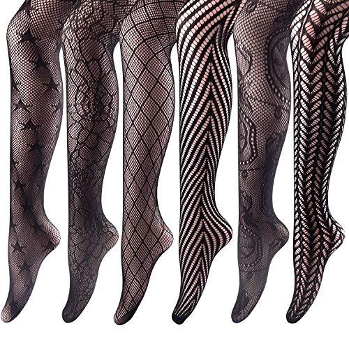 Visnetkousen hoge panty's Mesh kousen panty voor vrouwen