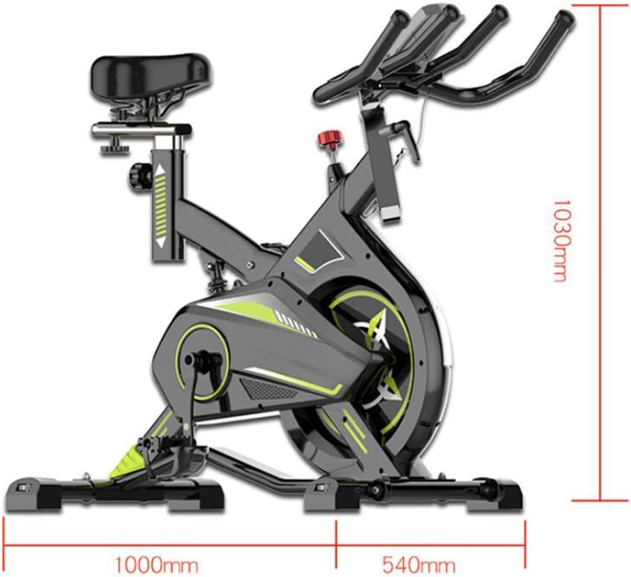 QZAA-Bicicleta Elíptica Multifuncional Bicicleta de Spinning ...