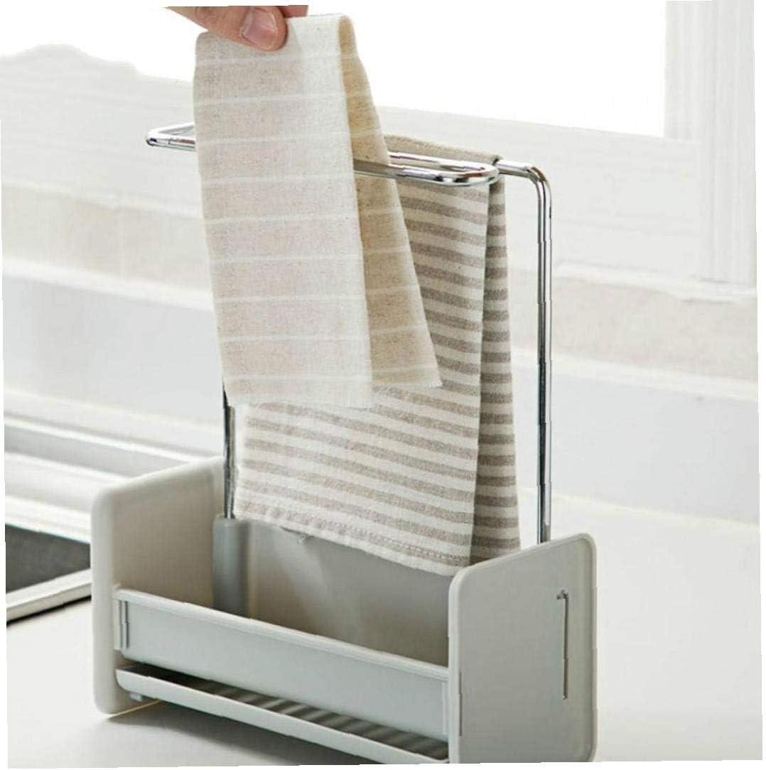 Zonfer Nettoyage 1pc Plastique /Évier De Cuisine Multifonction Organiseur /Éponge Tissu Support De Rangement D/évier De Vidange Titulaire /Éponge Gadget