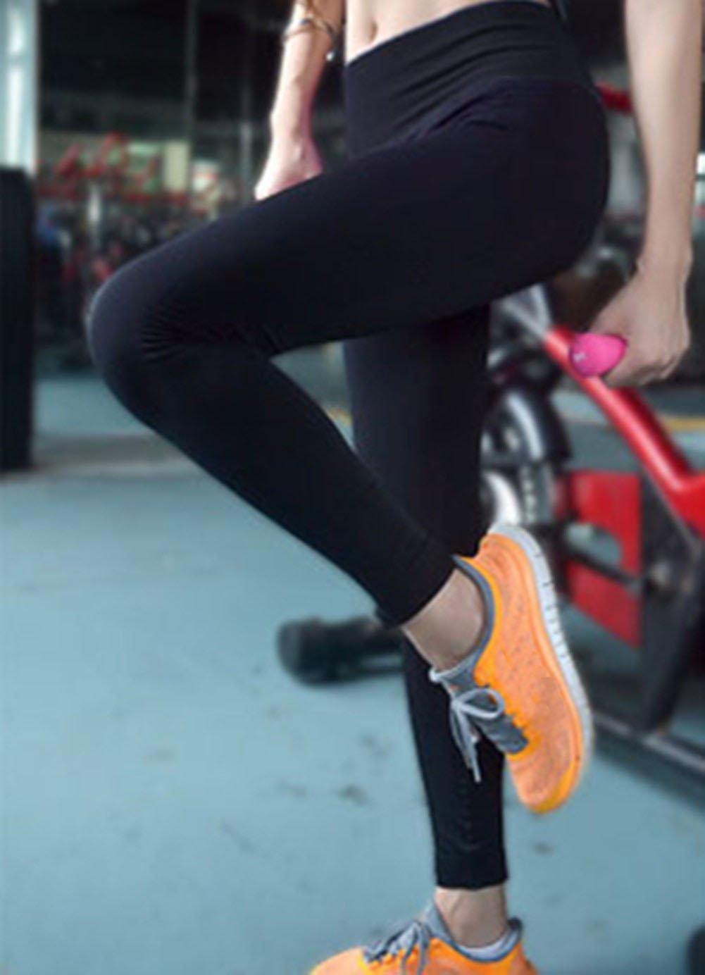 CRAZY Women's Sportswear Set Gym Jogging Bra Outfit Racerback Leggings Top+Pa... by Crazy (Image #2)