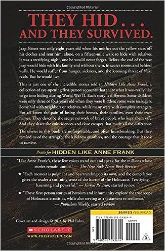 Amazon.com: Hidden Like Anne Frank: 14 True Stories of Survival ...