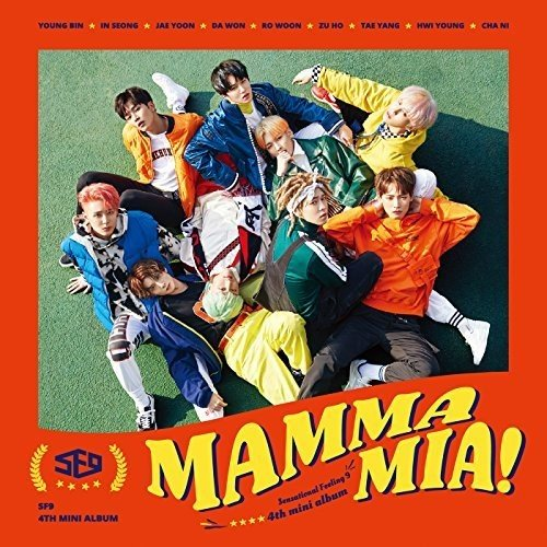 CD : Sf9 - Mama Mia! (Special Edition, Asia - Import)