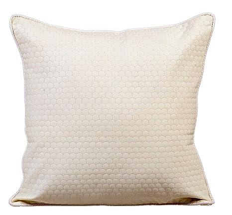 The HomeCentric Blanco marfil Fundas para Cojines 60 x 60 cm ...