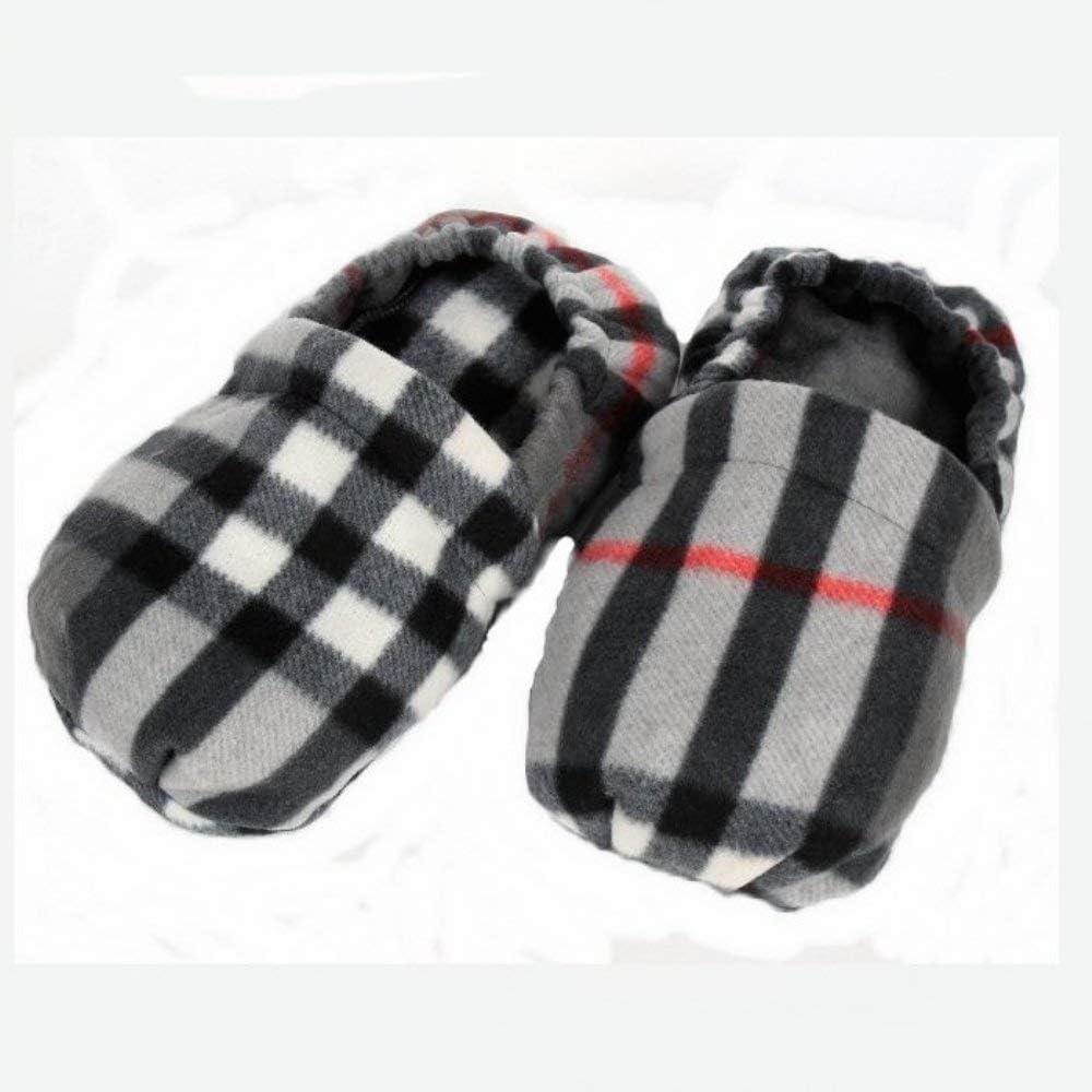 Zapatillas con semillas de lino para masajear la planta del pie ...