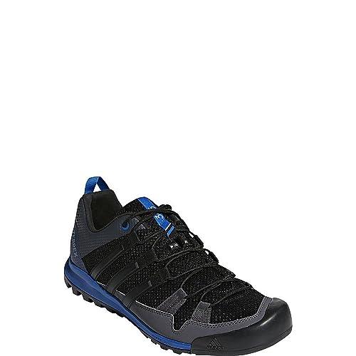 adidas Terrex Solo Shoe Men s Hiking 11.5 Black-Core Black-Blue Beauty 6f968329e