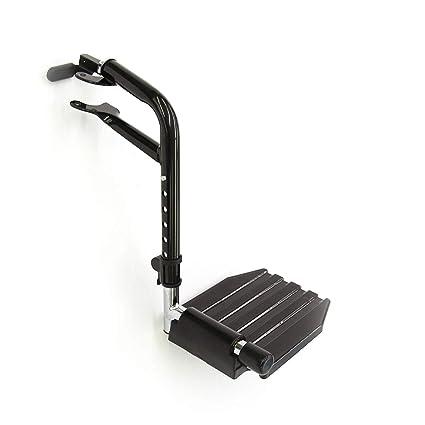 Invacare T93HEP Reposapiés económico para sillas de ruedas estándar