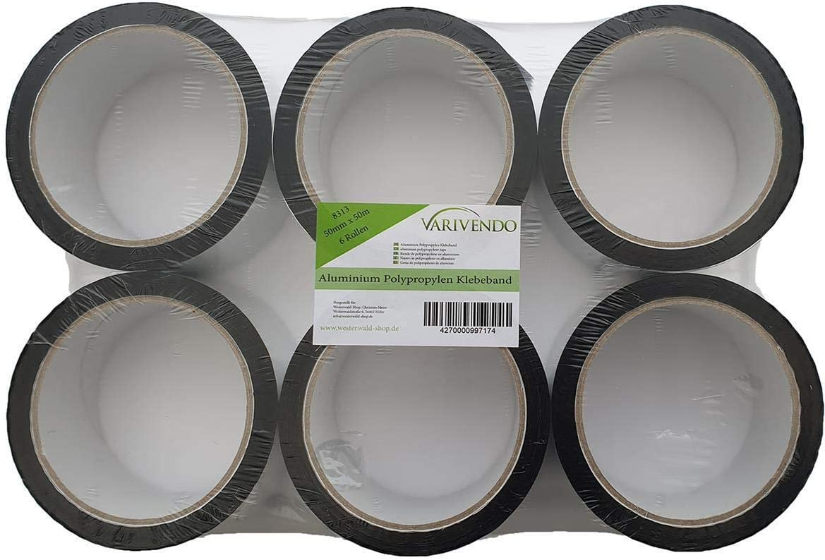 Alu Polypropylen Klebeband Aluminiumklebeband 7,5cm x 50m