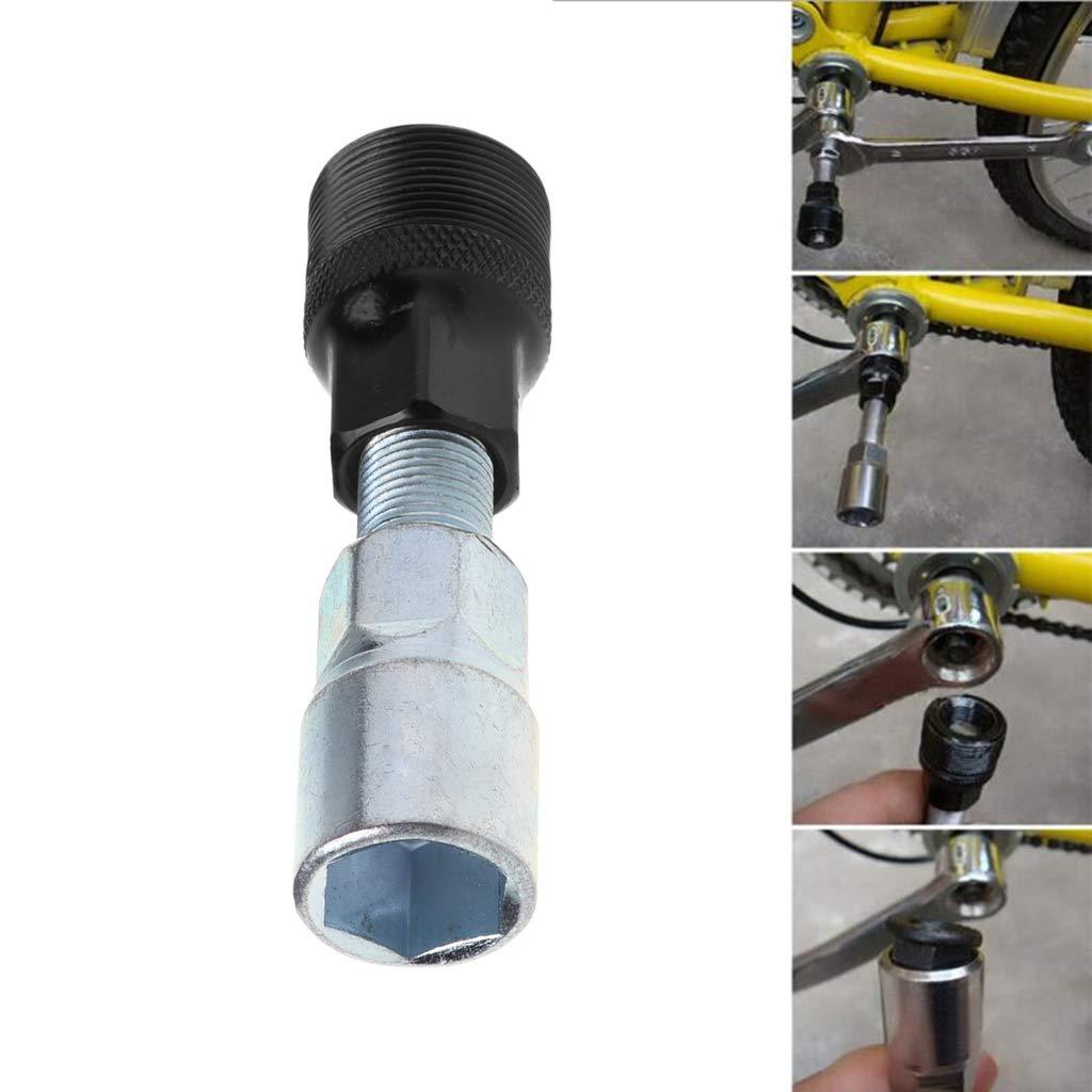 Strumento di Riparazione e rimozione Movimento Centrale Estrattore di manovella per Bicicletta Gjyia