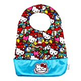 Ju-Ju-Be Hello Kitty Collection Be Neat Reversible Bib, Tick Tock