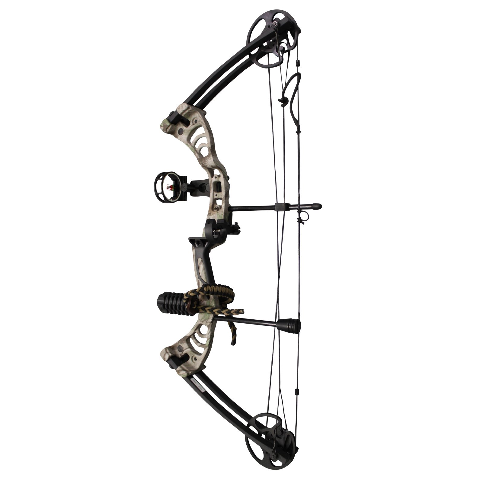Southland Archery Supply SAS Scorpii 55 Lb 32'' Compound Bow (GC Camo w/Accessories Kit)