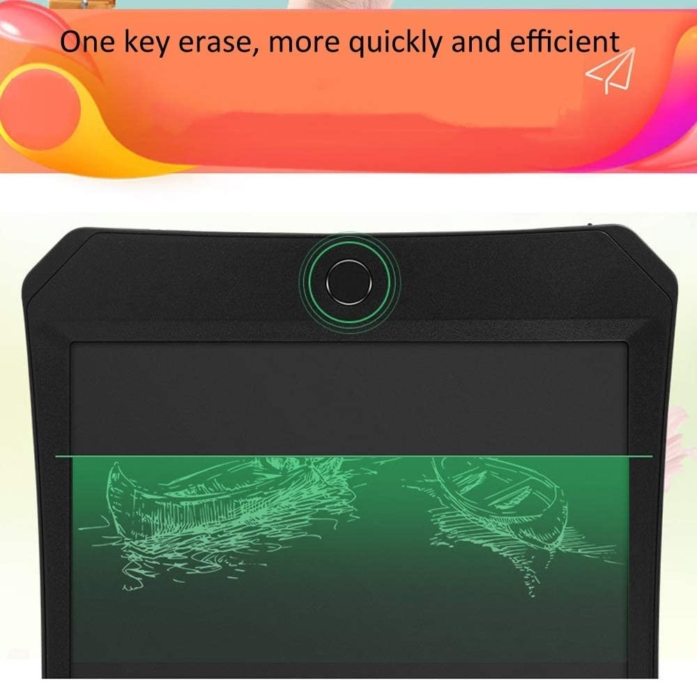 Black Di Drawing Accessories 11 inch LCD Monochrome Screen Fine handwriting Writing Tablet High Brightness Handwriting Drawing Sketching Graffiti Scribble Doodle Board for Home Office Writing Drawing