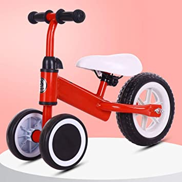 DJXLMN Bicicleta para niños Bicicleta de Equilibrio para niños ...