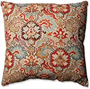 Pillow Perfect Madrid Persian Floor Pillow, 24.5-Inch