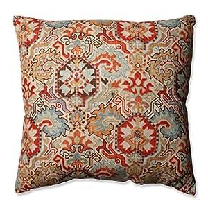 Amazon.com: Pillow Perfect Madrid Persian Floor Pillow, 24.5\