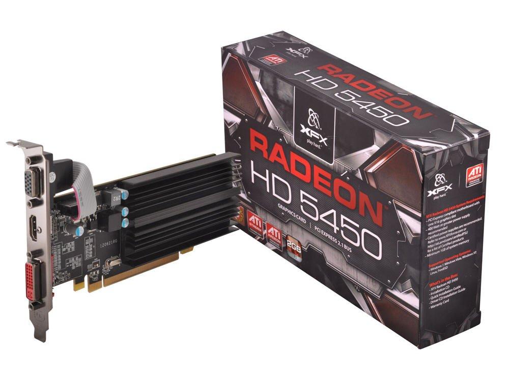 XFX ATI Radeon HD 5450 A12 2GB sDDR3 32 bit Graphic Card (HD-545X-CLH2)