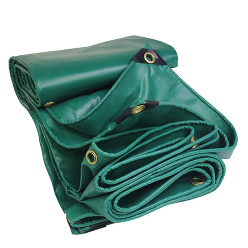 HGNA-Zeltplanen Zelt Zubehör Plane Grünes 100% Wasserdichtes und UV-geschütztes Hochleistungs-Planen-Multifunktions-Tarp, UV-Besteändig, mit Ösen und verstärkten Kanten Idee für Camping Wandern