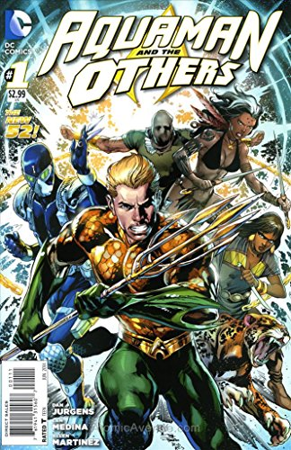 Aquaman and the Others #1 VF/NM ; DC comic book