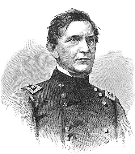 Edward Canby (1817-1873) Nedward Richard Sprigg Canby American Army Officer Wood Engraving 1865 Poster Print by (18 x ()