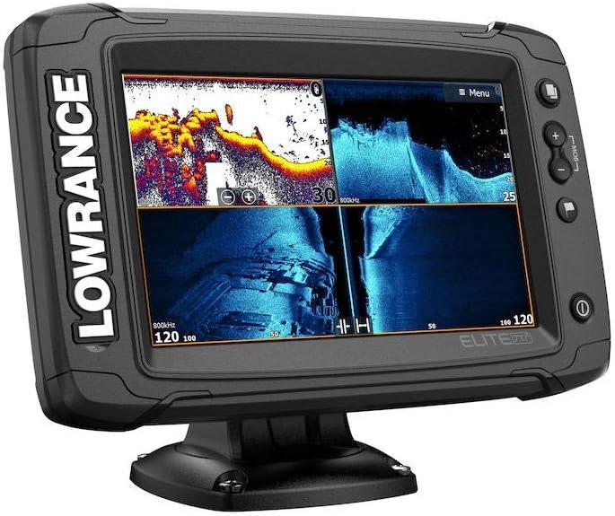 Lowrance Elite-7 Ti2 Fishfinder//Chartplotter Combo with HDI Transducer /& US Inland Chart