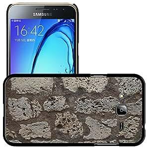 Print Motif Coque de protection Case Cover // M00154699 Pared de piedra Pared de piedras // Samsung Galaxy J3 SM-J3109