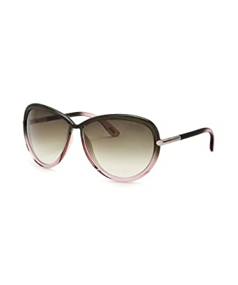 f44a01843f0c Tom Ford TF 161 Sabrina 95P Grey Sunglasses  Amazon.co.uk  Clothing