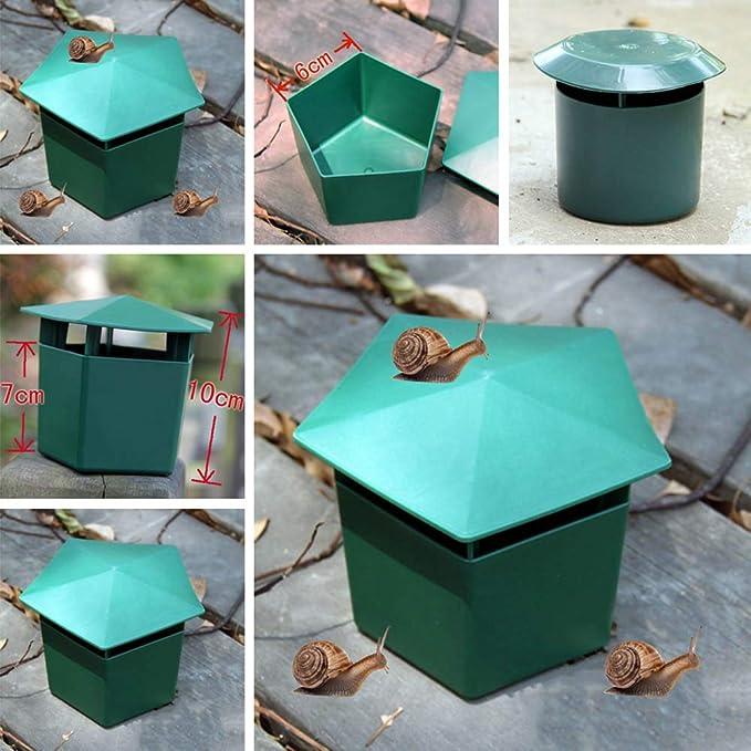 Meifyomng - Trampas para Caracoles de jardín, Control de Caracoles ...