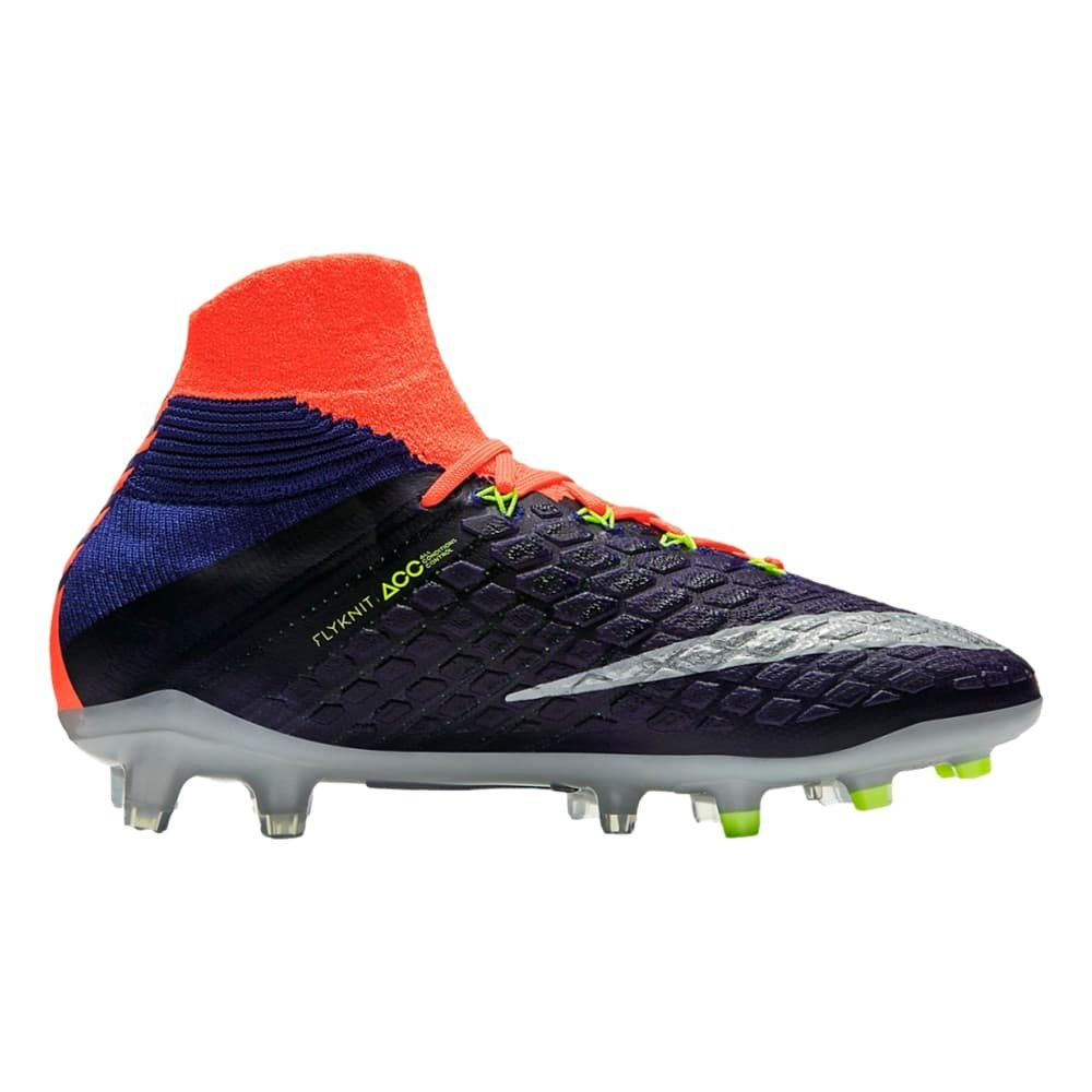 sale retailer 0d881 583e6 Amazon.com   Nike Youth Hypervenom Phantom III Dynamic Fit FG Cleats  Deep  Royal Blue  (4.5Y)   Soccer
