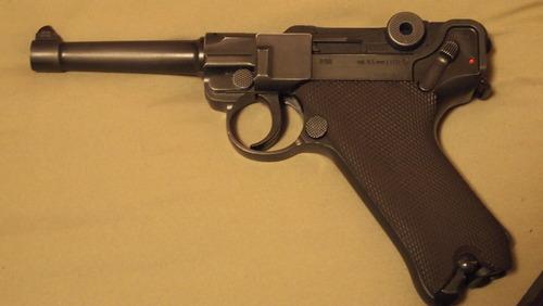 Umarex Legends P.08 All Metal .177 Caliber BB Gun Air Pistol Cool Luger P08 Replica