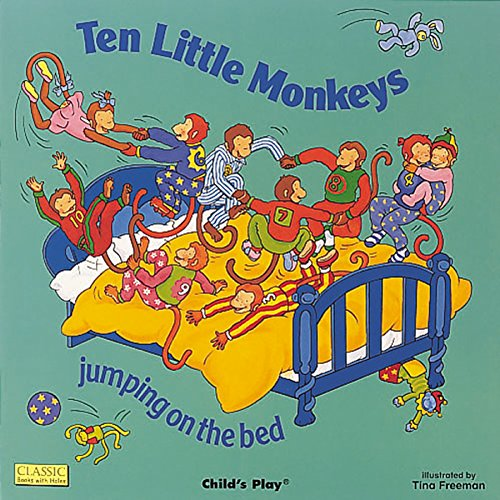 (Ten Little Monkeys (Classic Books With Holes))