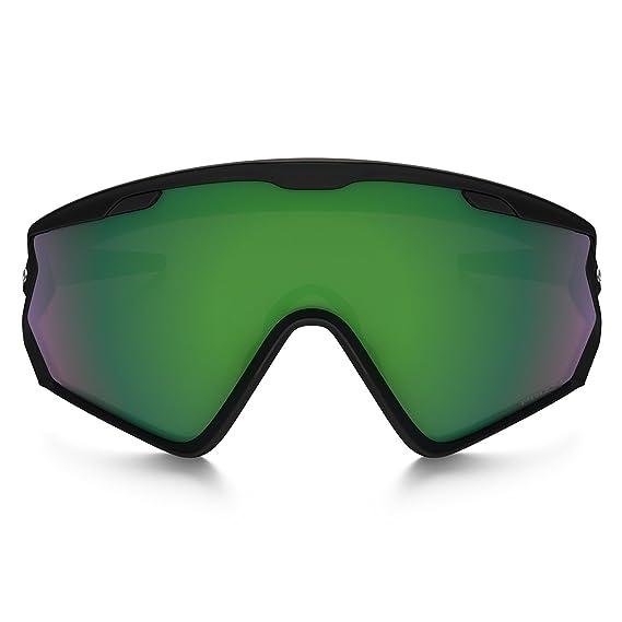 7532ff9c1b6 Amazon.com   Oakley Wind Jacket 2.0 Adult Goggles - Matte Black Prizm Jade  Iridium One Size   Sports   Outdoors